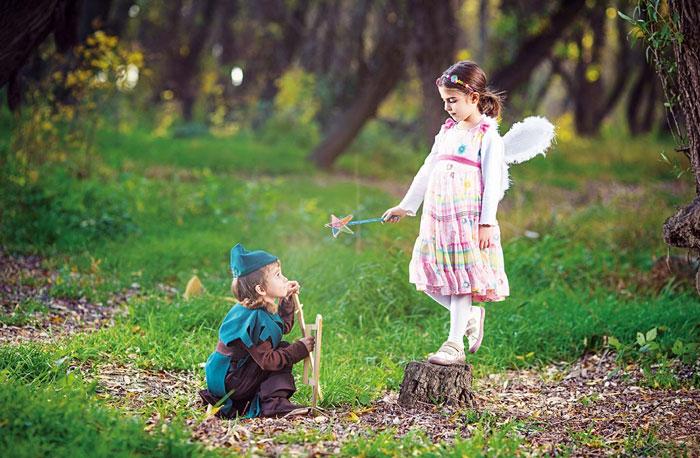 Fairy & flowers fantasy