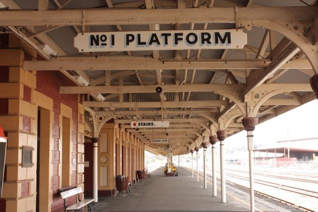 Walking tour 150 years of rail