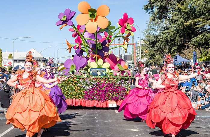 Grand Central Floral Parade