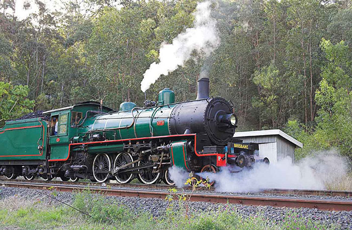 Full Day Steam Train Tour