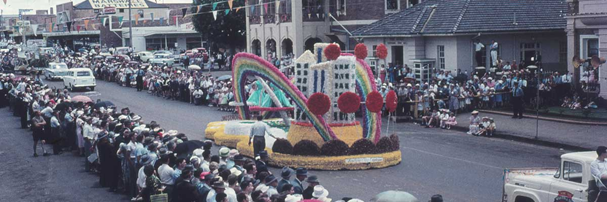 Memorabilia Display – 70 years of Toowoomba's Carnival