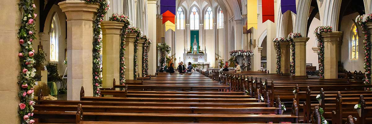 St Patrick's Cathedral Floral Display