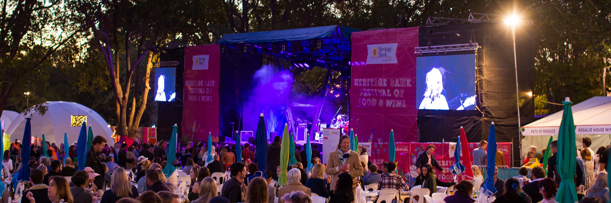 John Farnham to headline The Heritage Bank Festival of Food & Wine at the 70th Toowoomba Carnival of Flowers