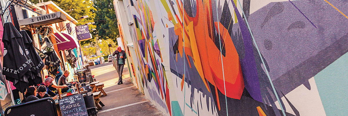Laneways + Street Art Discovery Walking Tour