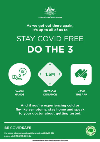 Covid Safe Poster